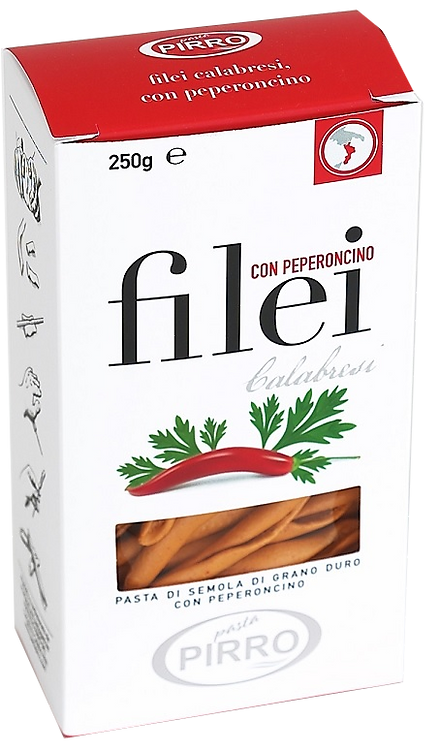 Filej con il peperoncino
