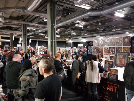 Birmingham Horror Con, Feb. 2018