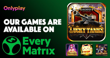 Onlyplay Partner With EveryMatrix