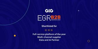 GiG Shortlisted For Three Awards At EGR B2B Awards 2021