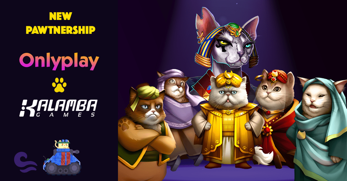 Onlyplay Partners With the Famous Game Studio Kalamba Games