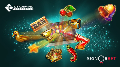 CT Gaming Interactive games go live with Italian operator SIGNORBET