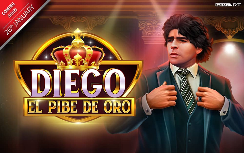 Coming Soon: Diego: El Pibe de Oro from GameArt