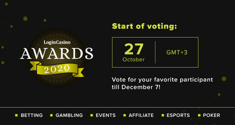 Login Casino Awards 2020 Voting Started
