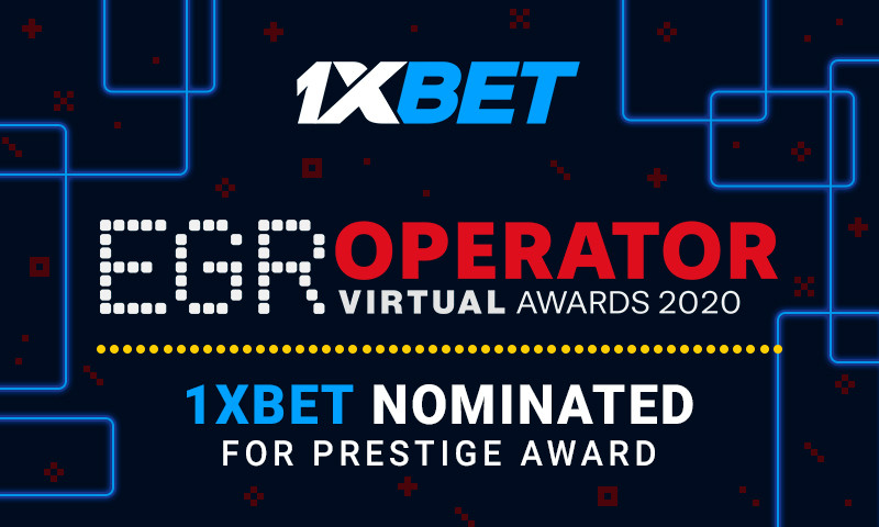 1xBet aims for victory at the prestigious EGR Operator Awards