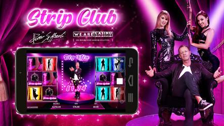 The Show Has Begun - WeAreCasino Unveils New Video Slot Rocco Strip Club