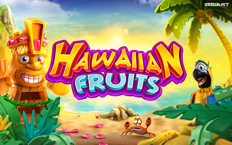 Hawaiian Fruits, GameArt's debut cluster-style game