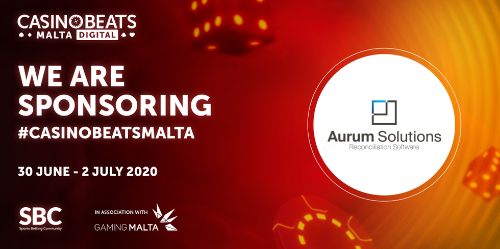Aurum Solutions to exhibit at SBC's fully virtual CasinoBeats Digital