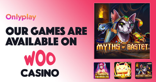 Onlyplay Games Now Presented On Woo Casino