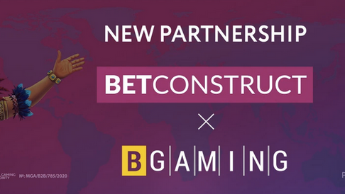 BGaming and BetConstruct Sign Partnership Deal