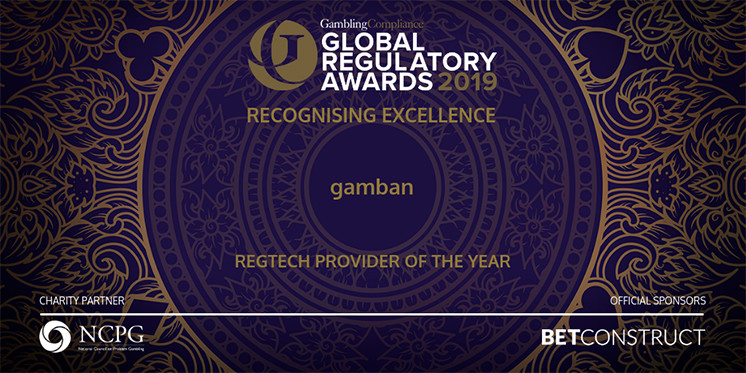 Gamban wins RegTech Provider of the year award