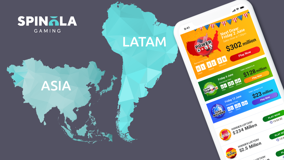 Spinola Gaming to enter LATAM and Asia with adapted range of lottery solutions