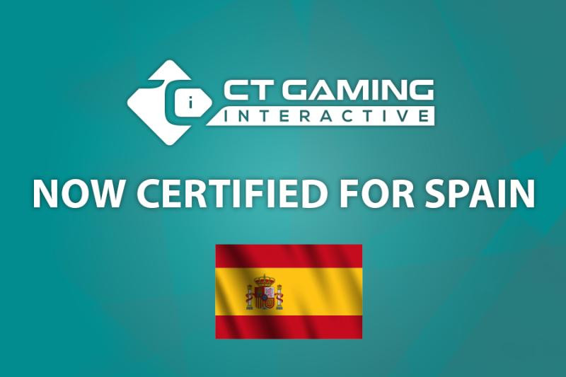 CT Gaming Interactive granted Spanish online market licence