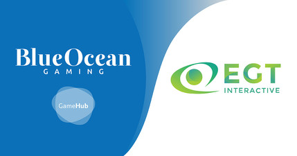 BlueOcean Gaming adds the well-known EGT content