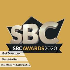 SBC Awards 2020 - Best Affiliate Innovat
