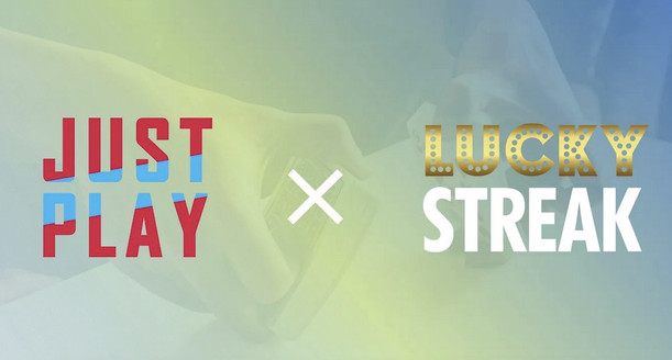 LuckyStreak Expand Content Portfolio With JustPlay