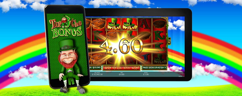 Inspired Launches Top 'O' The Bonus – A Classic Irish-Themed Online & Mobile Slot Game