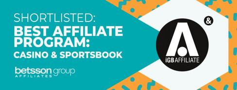 Betsson Group Affiliates has been shortlisted at iGB Affiliate London