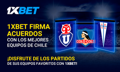 1xBet Signs Advertising Agreements With Three Most Popular Clubs in Chile