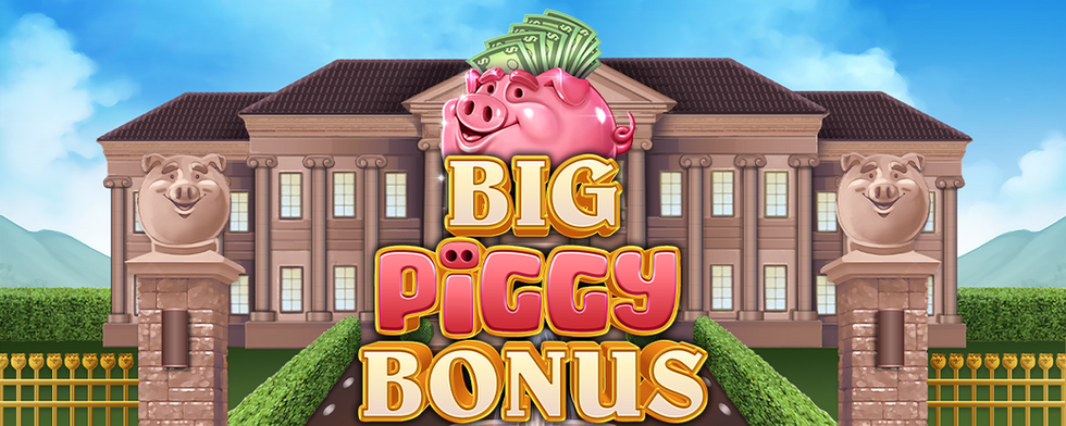 Inspired Launches Big Piggy, A Novel Pig-Themed Online and Mobile Slot Game