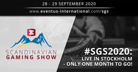 SGS 2020 Live in Stockholm - only one month to go