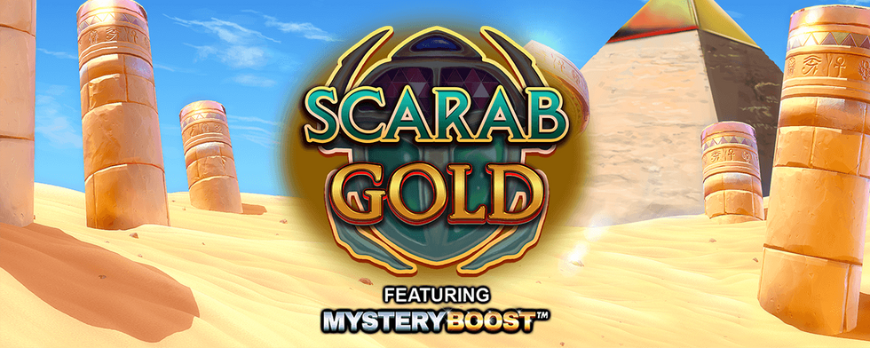 Inspired Launches Scarab Gold, An Ancient Egyptian Themed Online & Mobile Slot Game