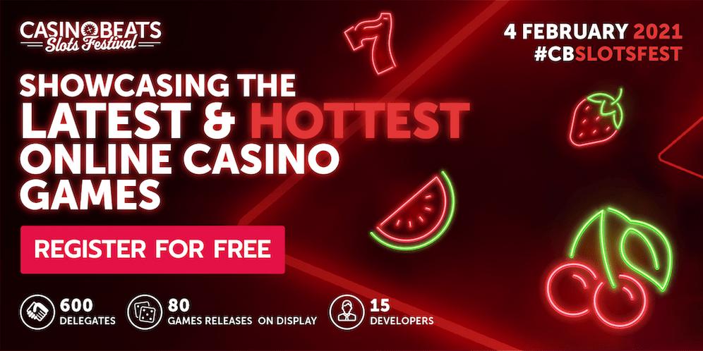 CasinoBeats Slots Festival to Showcase 2021's Hottest New Games