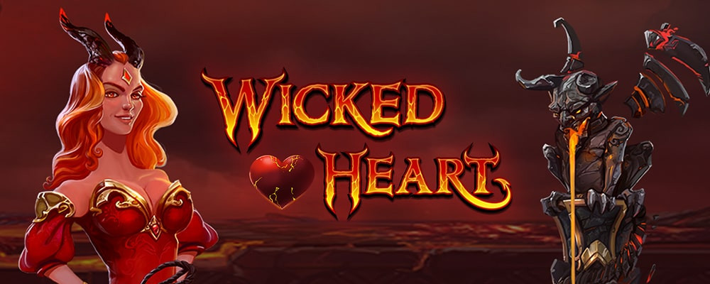 Wicked heart - flaming hot new slot game by Mancala Gaming