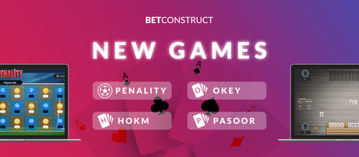 BetConstruct Launches 4 New Games