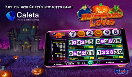 Lotto Game Is Launched By Caleta And RCT To Complete The Halloween Family