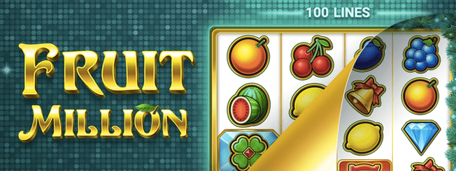 """The First """"Shapeshifter"""" Slot by BGaming: Fruit Million Changes Its Look"""