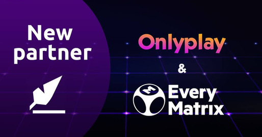 Onlyplay partner with the world famous EveryMatrix