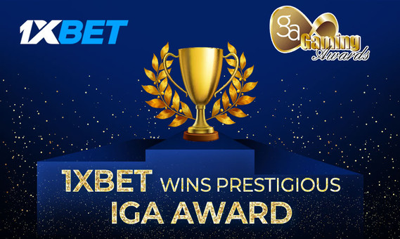 1xBet wins prestigious IGA Award