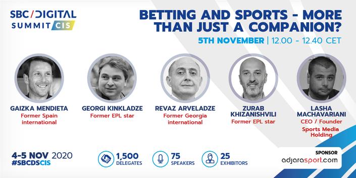 Gaizka Mendieta and Georgian football greats join SBC Digital Summit CIS line-up