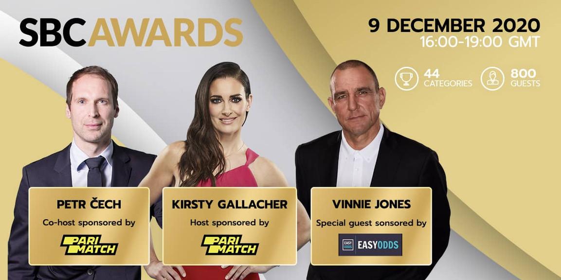 Petr Cech, Kirsty Gallacher and Vinnie Jones confirmed for star-studded SBC Awards 2020