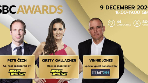 Petr Cech, Kirsty Gallacher and Vinnie Jones confirmed for star-studded SBC Awards 2020