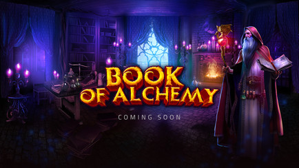 GameArt - Book of Alchemy - Coming Soon