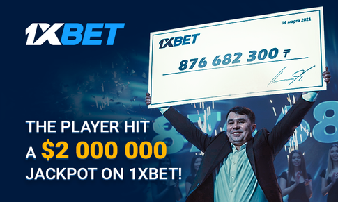 1xBet Player Wins Over $2 Million On A 44-Event Accumulator