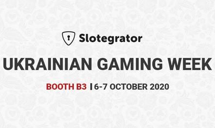Slotegrator are Exhibiting at UGW - Ukrainian Gaming Week in October