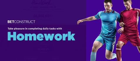 BetConstruct Launches HomeWork
