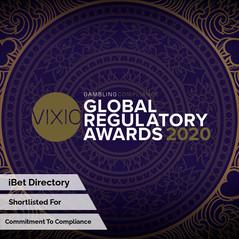 Global Regulatory Awards 2020 - Commitem