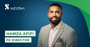 Soft2Bet Hires Hamza Afifi As PR Director