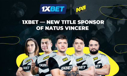 1xBet becomes the title partner of the esports organization Natus Vincere