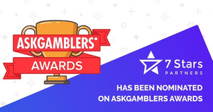 7StarsPartners Is Proud To Announce The Nomination For This Year's AskGamblers Awards