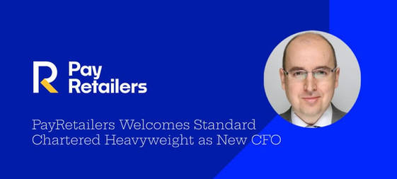 PayRetailers Welcome Standard Chartered Heavyweight As New CFO
