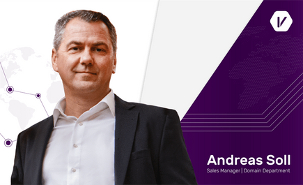 Andreas Soll, a prominent Business Development Expert, joins Internet Vikings' Domain Management Department