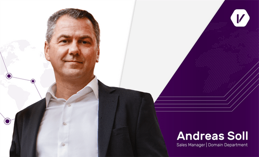 Andreas Soll, a prominent Business Development Expert, joins Internet Vikings' Domain Management Department