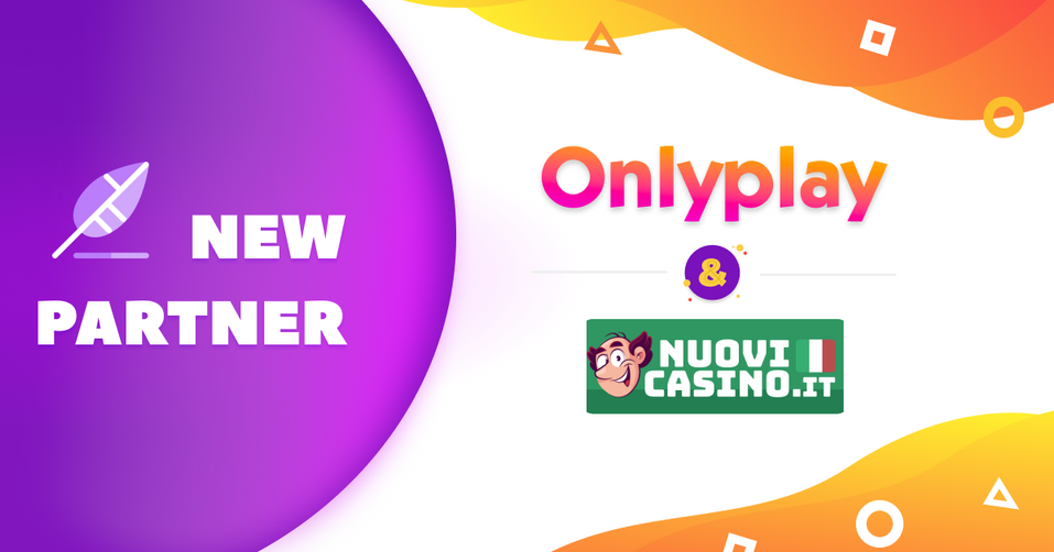 Onlyplay Partner With Nuovicasino.it