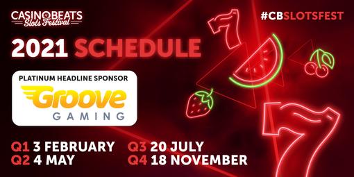 CasinoBeats Slots Festival announces four editions for 2021