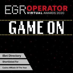 EGR Operator Virtual Awards 2020